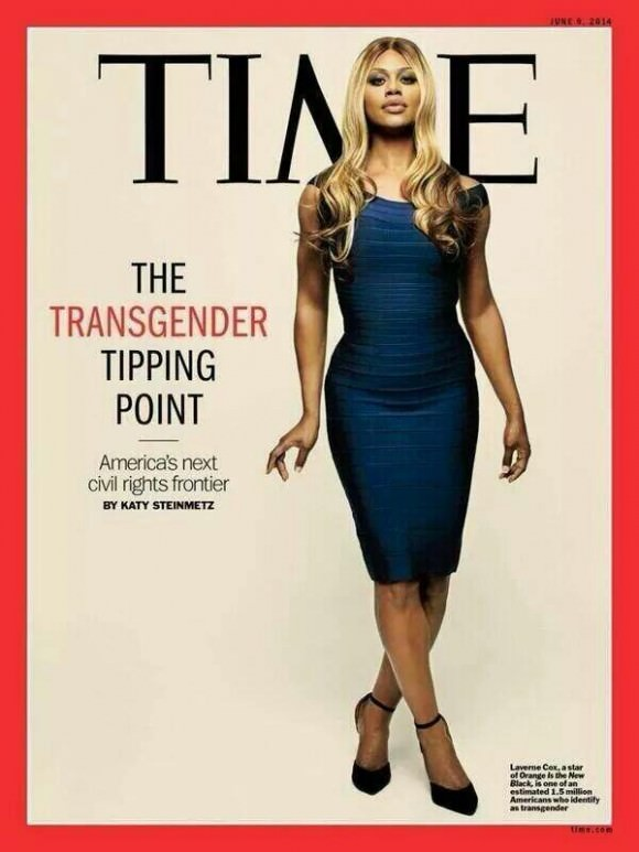 Photo of Laverne Cox by Gillian Laub for TIME magazine.