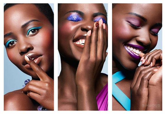 Lupita Nyong'o, photographed by Philippe Salomon for Essence, March 2014.