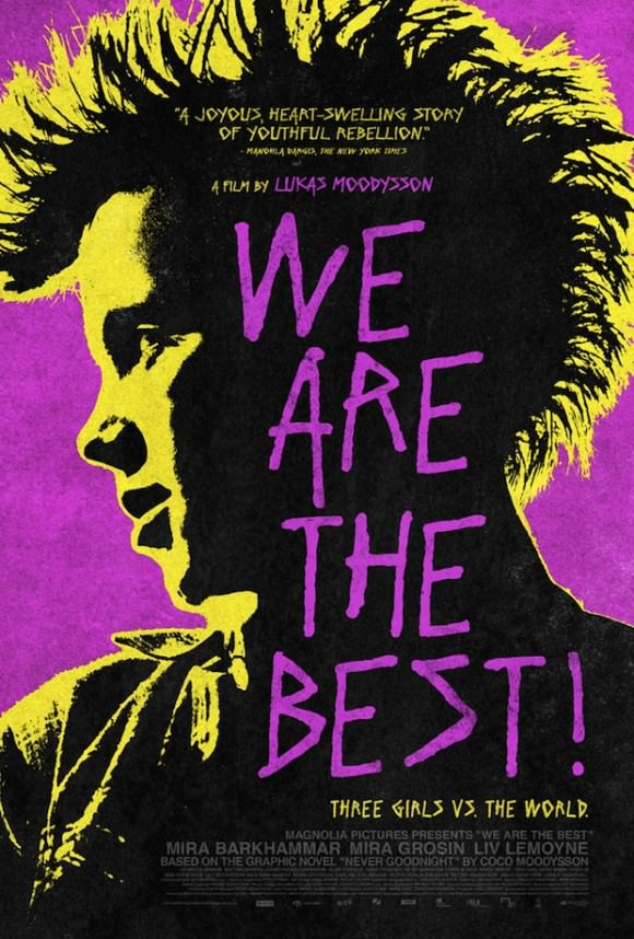 The poster for We Are the Best!