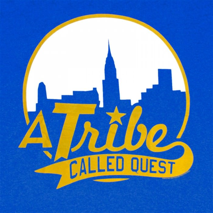 Graphic from a Tribe Called Quest T-shirt, via Tshirtroyalty.com.
