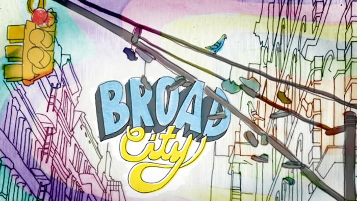 Broad City logo exploration designed by Julie Verardi.