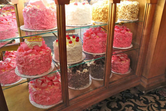 The world-renowned Madonna Inn cakes, via Susan Branch.