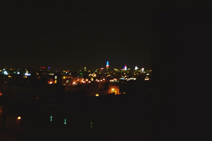 The view from Allyssa's roof.