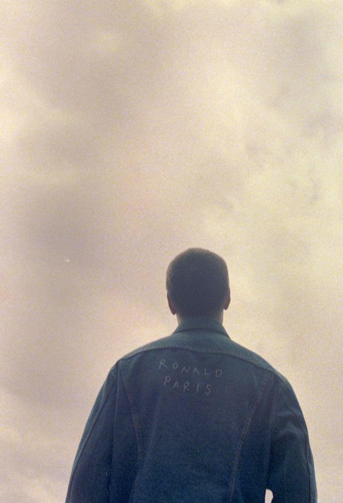 Gazing at a rainy summer sky.