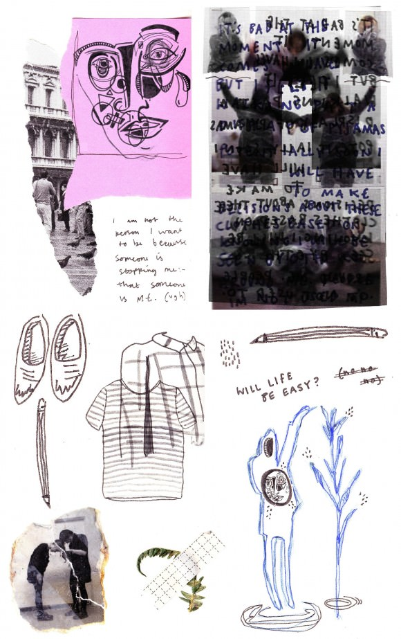 """A lot has happened,"" says Caitlin. This is her visual diary for the week."