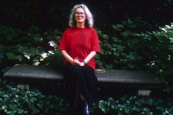Photo of Angela Carter via Vulture.