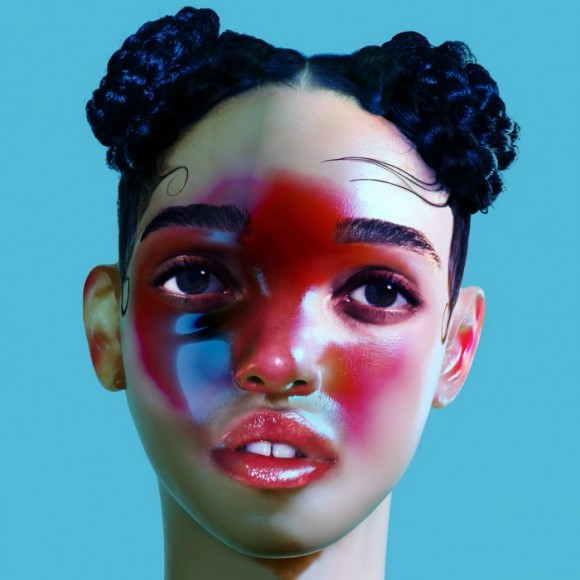 The cover art for FKA twigs' LP1.