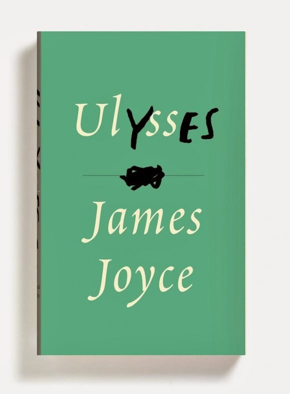 Peter Mendelsund's cover for Ulysses via New Republic.