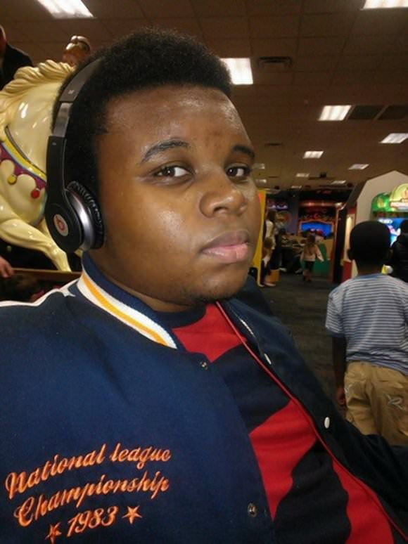 Photo of Michael Brown via CNN.