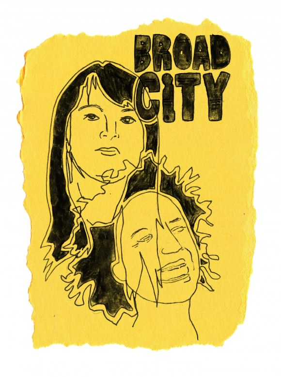 "Sayeth Caitlin about this illustrated diary entry: ""Late to the party as usual, but I finally watched all the episodes of Broad City, and I loved it."""