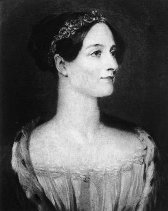 Photo of Augusta Ada, Countess of Lovelace courtesy of Hulton Archive/Getty Images via NPR.