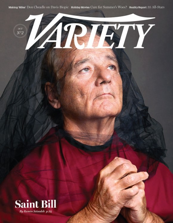 Photo of Bill Murray by Martin Schoeller for Variety.