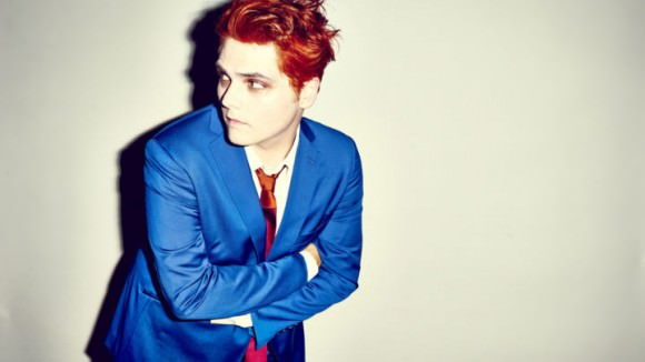 Photo of Gerard Way courtesy of Warner Brothers via Rolling Stone.