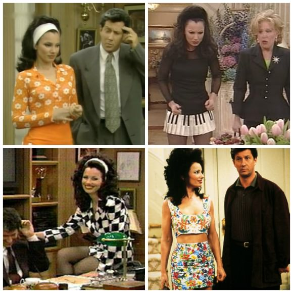 The Nanny Collage
