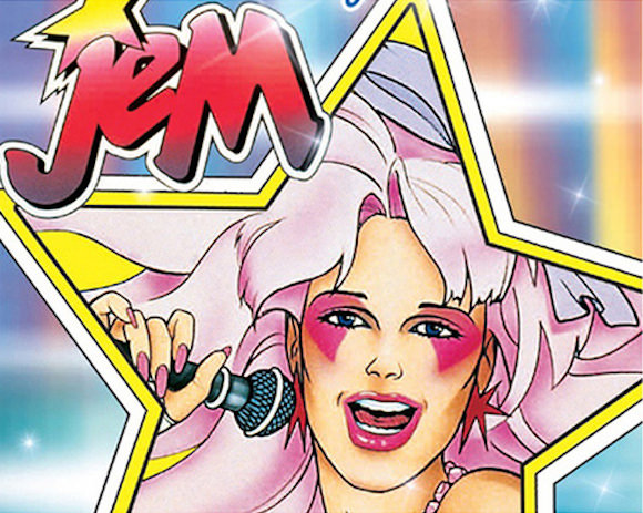 The lady in pink: Jem herself!