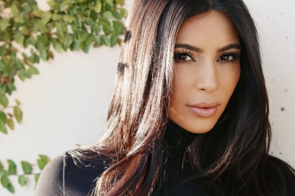 Photo of Kim Kardashian, via Into the Gloss.