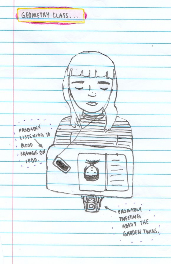 """My Final Months of Freshman Year: A Self Portrait,"" by Briana."
