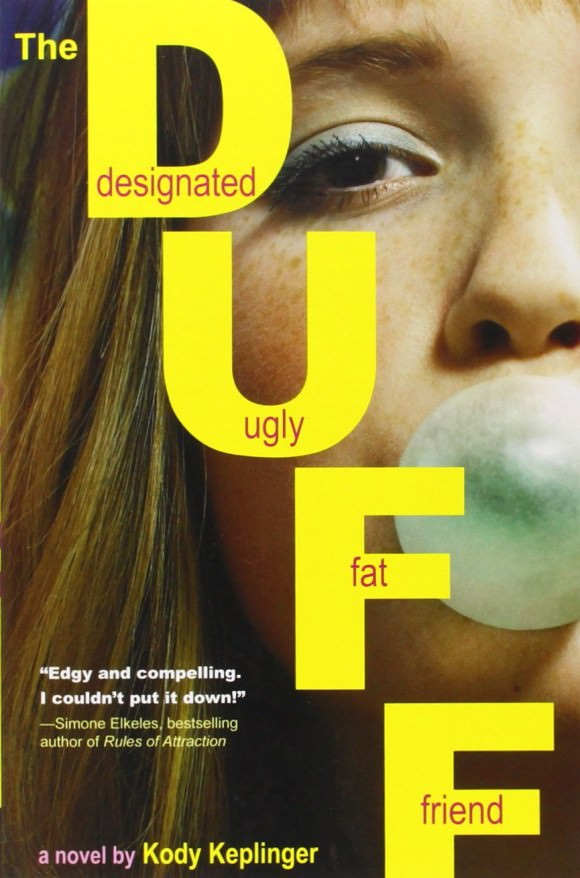 Cover of The DUFF: (Designated Ugly Fat Friend) by Kody Keplinger, via Amazon.
