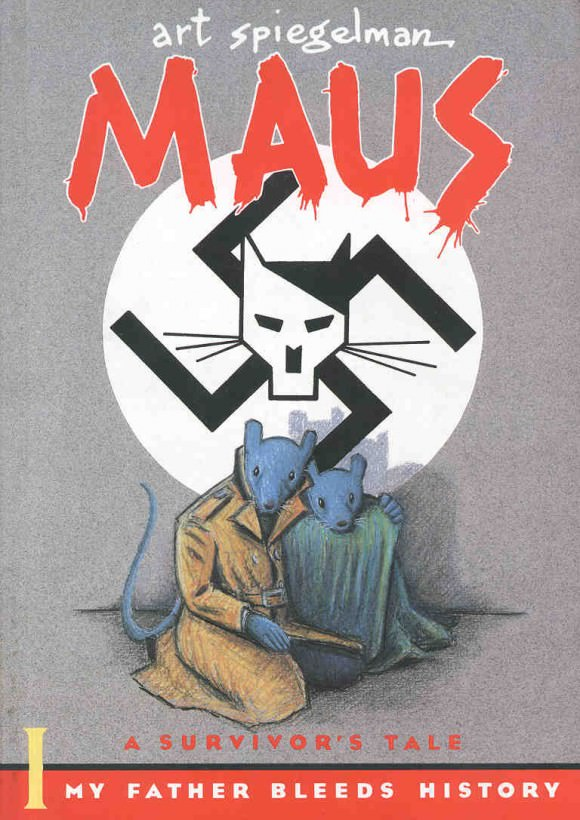 Cover of Maus by Art Spiegelman, via Amazon.