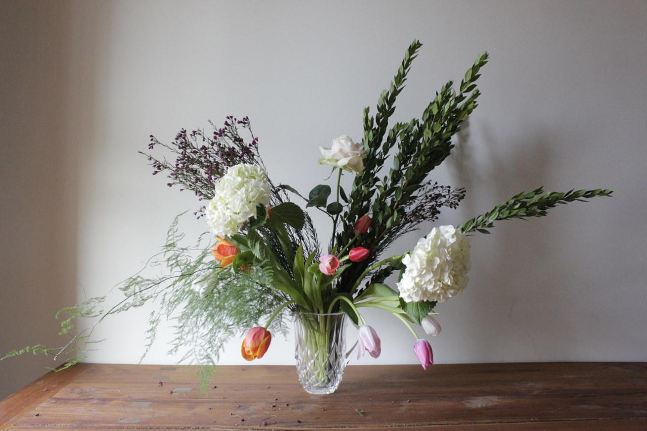 Rookie How To Arrange Flowers