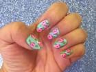 DIY Rose Manicure