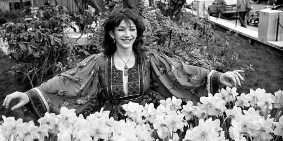 Kate Bush, 1979, by PA via ITV News.
