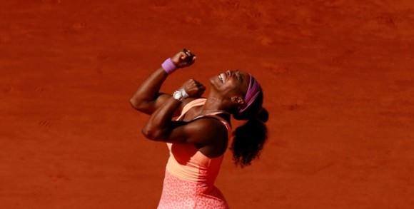 Photo of Serena Williams by Jason Cairnduff, via the Guardian.