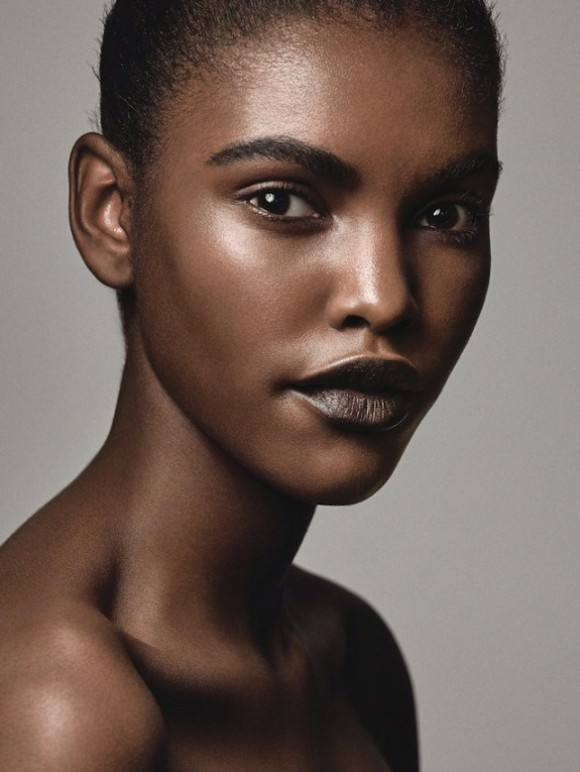 Photo of Amilna Estevao, by Craig McDean via T Magazine.