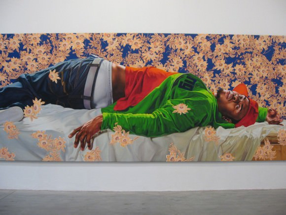 By Kehinde Wiley, via the Awl.