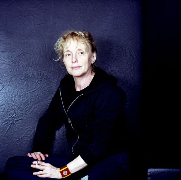 Claire Denis photographed by Ruth Ehrmann, via Film Museum.