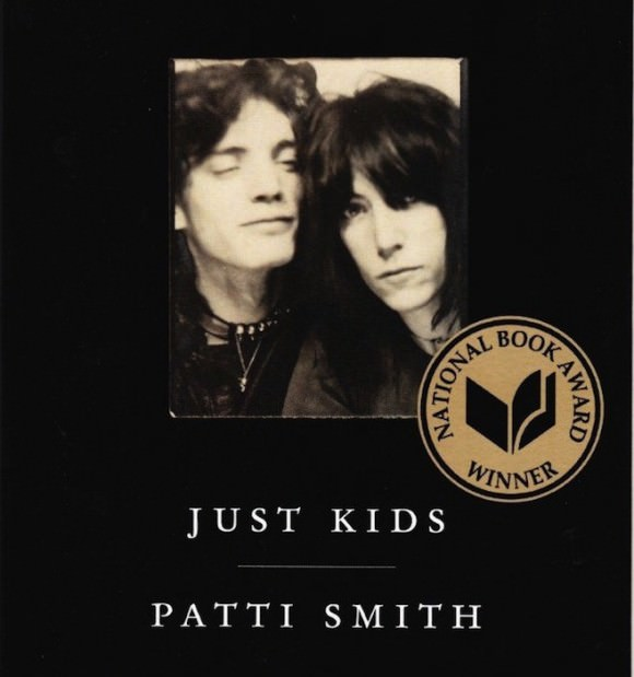 Cover of Patti Smith's memoir Just Kids, via Pitchfork.