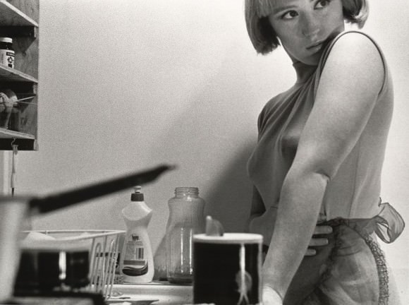 "From ""Untitled Film Stills,"" by Cindy Sherman. Via Dazed."