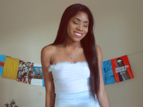 DIY Marabou-Trimmed Tube Top