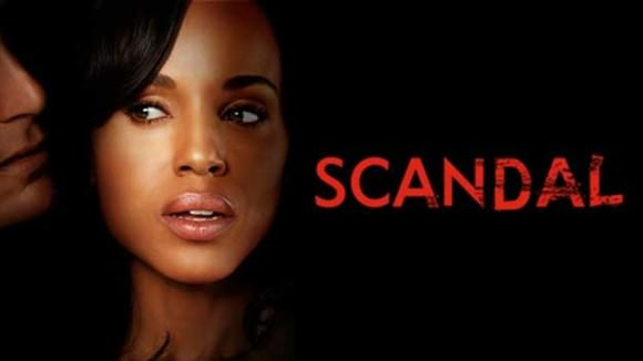 Kerry Washington as Olivia Pope.
