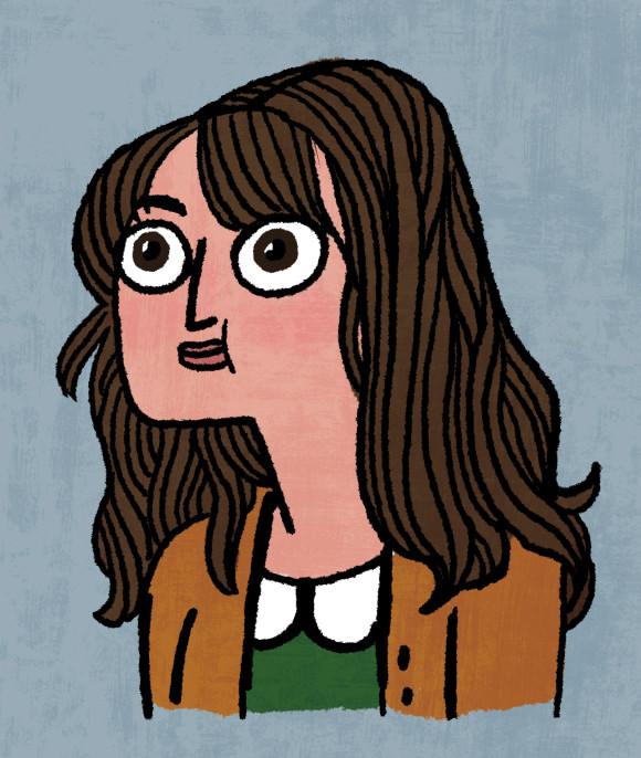 Kate Beaton, by Kate Beaton!