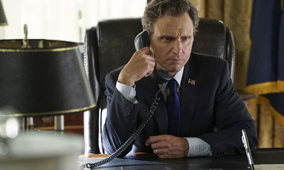 Tony Goldwyn as President Fitzgerald Grant.