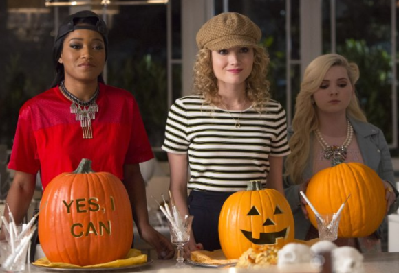 Keke Palmer as Zayday Williams,  Abigail Breslin as Chanel No. 5, and  Skyler Samuels as Grace Gardner.