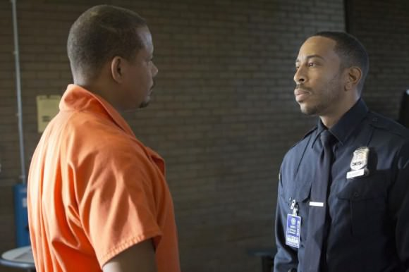 Terrence Howard as Lucious Lyon and Ludacris as Officer McKnight.