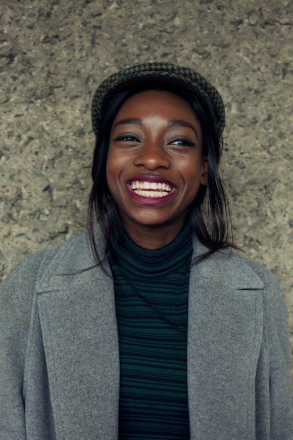 Photo of Little Simz by Eleanor Hardwick.