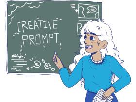 Creative Prompt: Read Palms