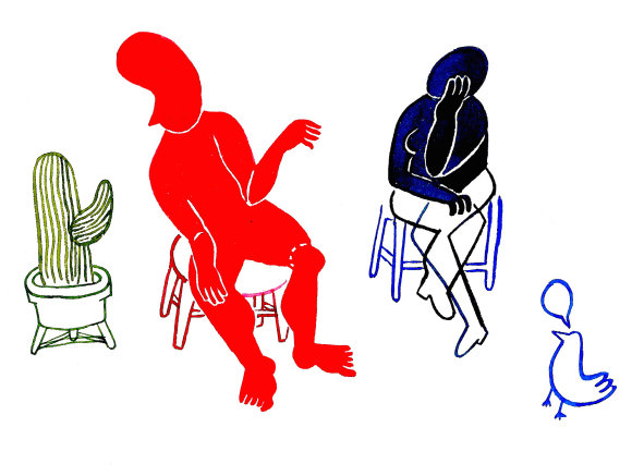 Illustrations by Cécile McLorin Salvant.
