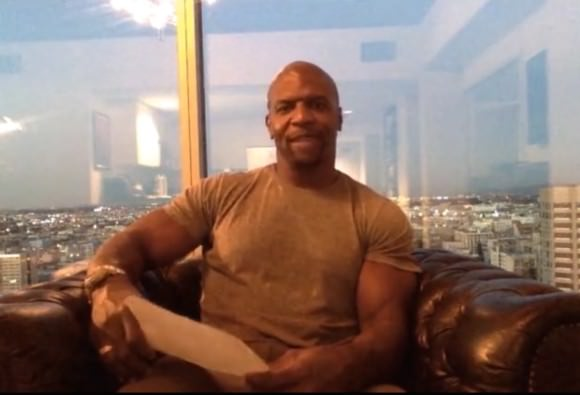 Terry Crews, to the rescue!
