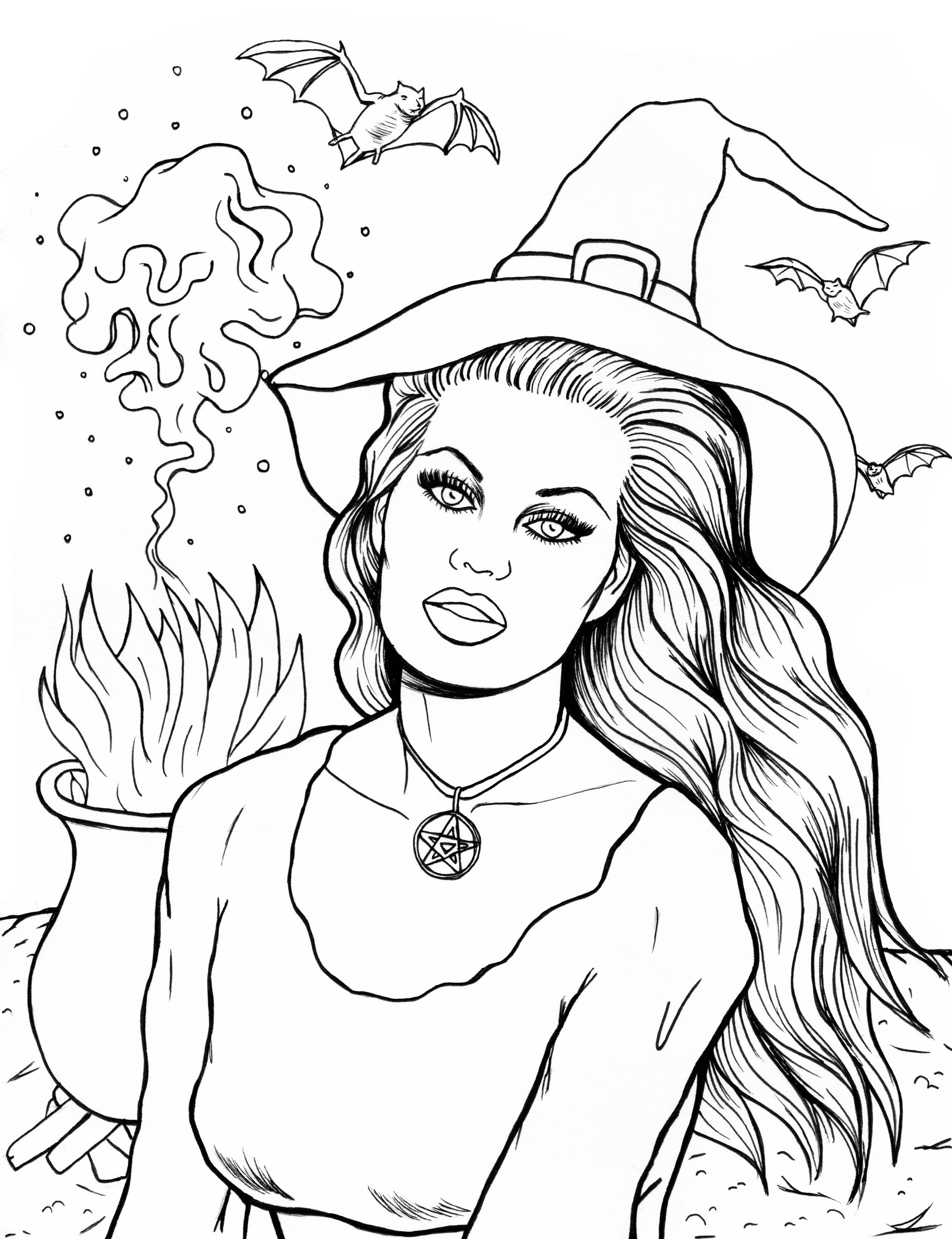 Rookie » Saturday Printable: Halloween Coloring Pages