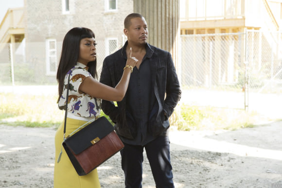 Taraji P. Henson as Cookie and Terrence Howard as Lucious
