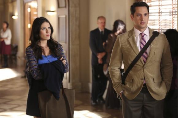 Karla Souza as Laurel Castillo  and  Matt McGorry as Asher Millstone.