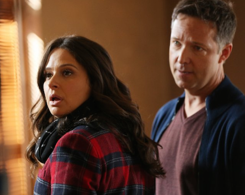 Katie Lowes as Quinn Perkins and  George Newbern as Charlie.