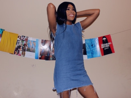 DIY Denim Dress