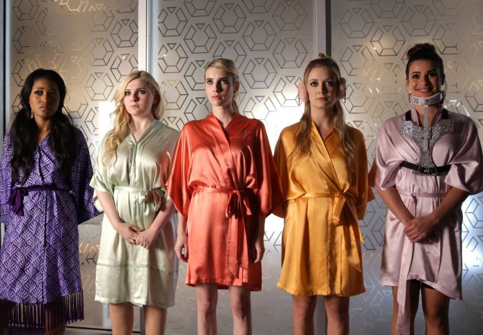 You're looking at a Red Devil Killer in this lineup from Scream Queens.