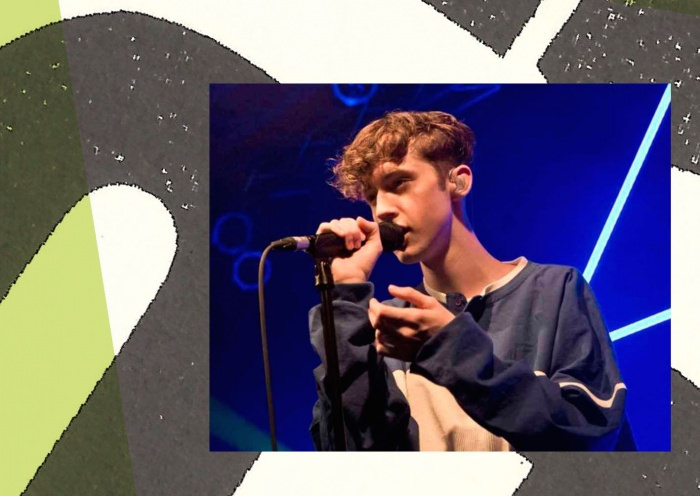 Collage by Ruby Aitken, using a photo of Troye Sivan via Ellen.