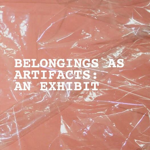 BELONGINGS AS ARTIFACTS_01